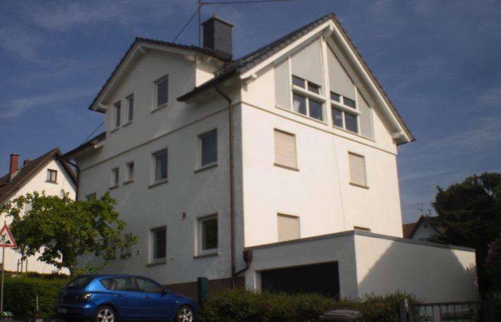 Aufstockung in Königstein (nachher)